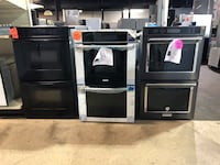 Double wall oven with 1 year factory warranty Pineville, 28134