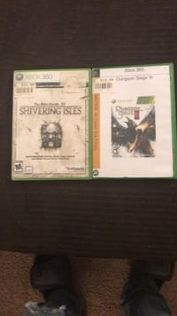 two Xbox 360 game cases Anderson, 46013