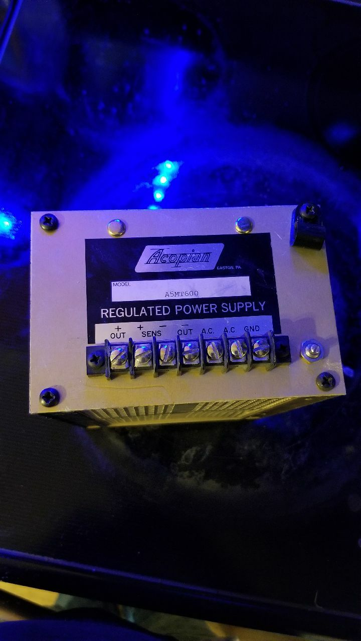 Acopian A5MT600 Regulated Power Supply TESTED