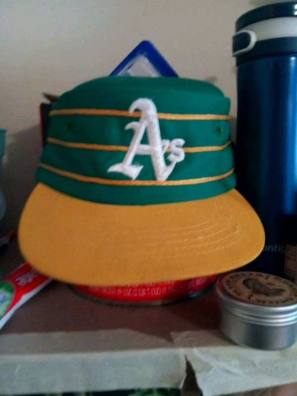 Used Vintage Oakland A s pillbox style hat! for sale in Minneapolis - letgo 5859083d55b