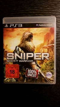 Playstation 3 Spiel - Sniper: Ghost Warrior