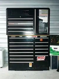 black and gray Craftsman tool cabinet Naperville, 60565