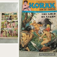 Old comic Korak son of tarzan Coventry