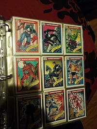 Marvel Avengers and others cards