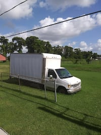 white utility Truck 14 footer