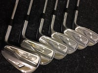 718 Titliest AP2 irons.  With PXI 6.0 stiff shafts 3731 km