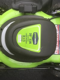 Greenworks Plug In Electric Mower