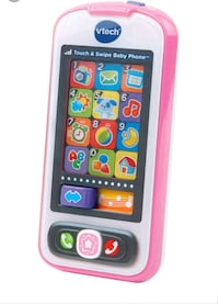 VTech Touch and Swipe Baby Phone (Blue)  16 mi