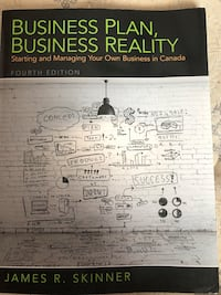 Business Plan, Business Reality book Peterborough, K9H 1Z4