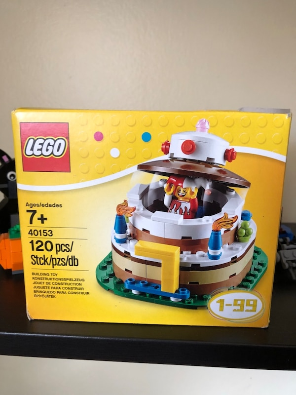 Used Lego Exclusive Birthday Cake 40153 For Sale In Letgo