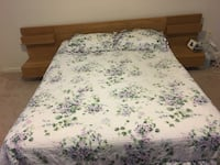 Bed Frame and Nightstands  Lorton