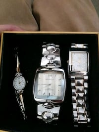 Wrist watches Two men's and one woman's Stockton, 95203