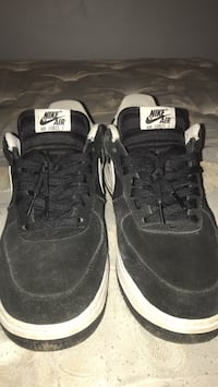 Pair of black nike air force one shoes Canton, 44703