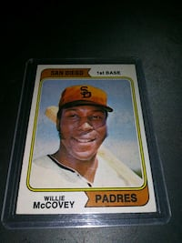 1974 TOPPS WILLIE McCOVEY BASEBALL CARD EX COND. Upper Darby, 19026