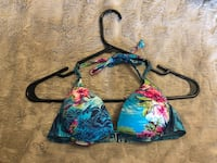 Blue, pink, and green floral bikini top Toronto, M5R 2W9