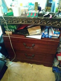 brown wooden dresser with mirror Springfield, 22150