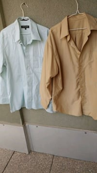 Mint & Gold Men's shirts