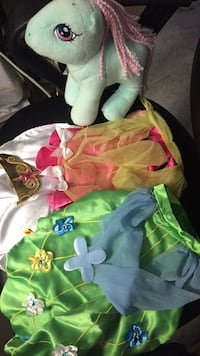 Build a bear - my lititle pony and costumes Mississauga, L4X 2C8