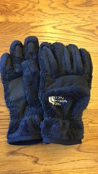 Youth North Face Gloves. Wadsworth, 44281