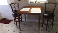 Table chairs and mats included, normal wear and tear overall good shape.  Manchester, 37355