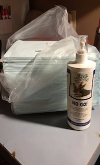 Puppy Training Pads With NO GO Spray!  La Vergne, 37086