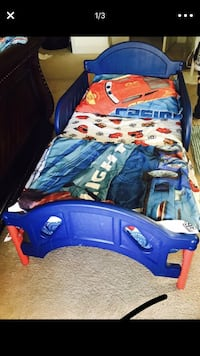blue and red car bed frame 42 km