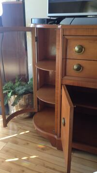 brown wooden tv stand Dartmouth, B3A 2E6