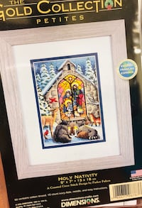 Collectible cross-stitch Las Vegas, 89145