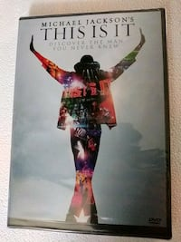 Michael Jackson's This is It dvd (Brand New)