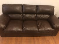 Brown Leather couch 3257 mi