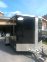 12 foot trailer Larger items delivery service Barrie