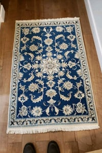 HAND KNOTTED AREA RUG