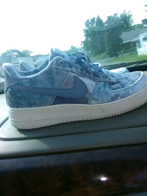 1002f1e55a2c51 Used Blue Nike air force velvet for sale in Harrisburg - letgo