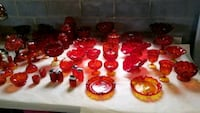 Ruby red Moon & Stars glassware Boonsboro, 21713