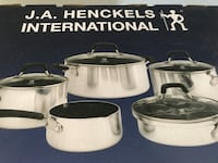 Brand new in box J.A.HENCKELS   14 Pisces's cooking set  Toronto, M4C 5J6