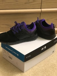 pair of black adidas low-top sneakers with box Oakton, 22124