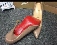 pair of beige leather pointed-toe pumps New Baltimore, 48047