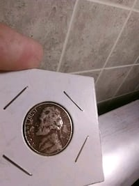 1974 nickel hit with a penny patcher Paris, 40361