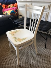 Wood Chair - Delicately intricate hand painted flowers Gresham, 97080