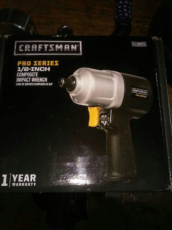 Craftsman Pro Series 1 2 Inch Composite Impact Wrench