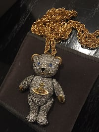 Vivienne Westwood Teddy Bear Necklace