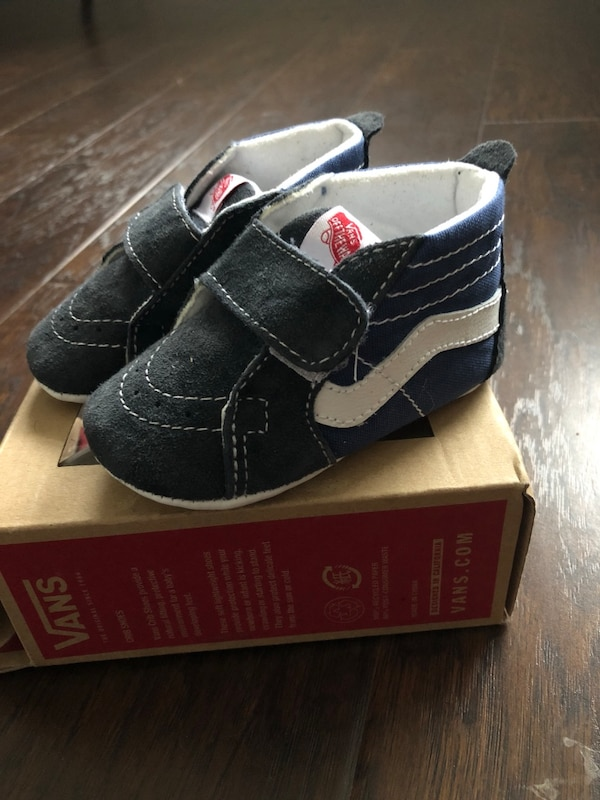 62d7384191ad Used Vans baby crib shoes for sale in Maple Ridge - letgo