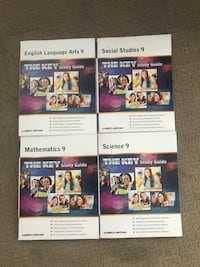 Alberta Grade 9 'THE KEY' Study Guides (4)