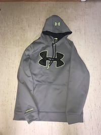 black and gray Under Armour pullover hoodie Winnipeg, R3M 2S3