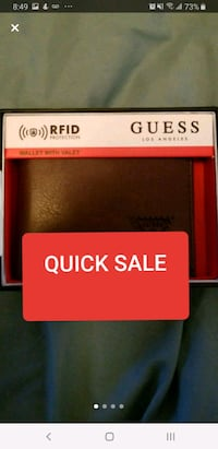 authentic guess wallet brand new . was 45 with tax