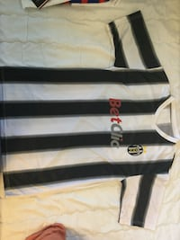 Black and gray striped polo shirt Montréal, H1G