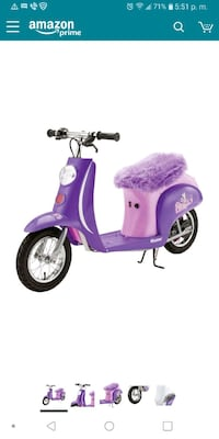 purple and white motor scooter Thornton, 80260