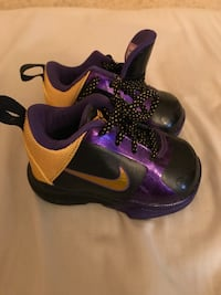 Kobe Bryant infant shoes size 3c Fresno, 93711