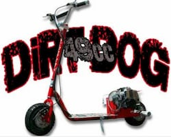 DIRTDOG 49cc SCOOTERX 2018 MOPED GOPED GAS