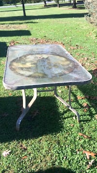 Outdoor glass top table New Oxford, 17350